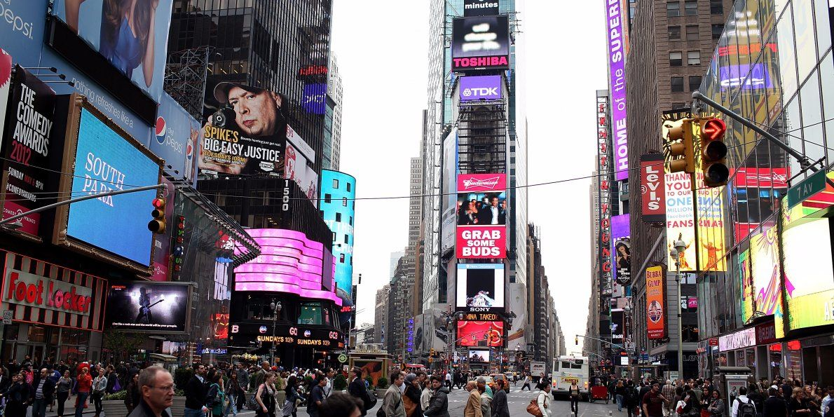 How Times Square Became The Nutty And Inspiring Mega Tourist