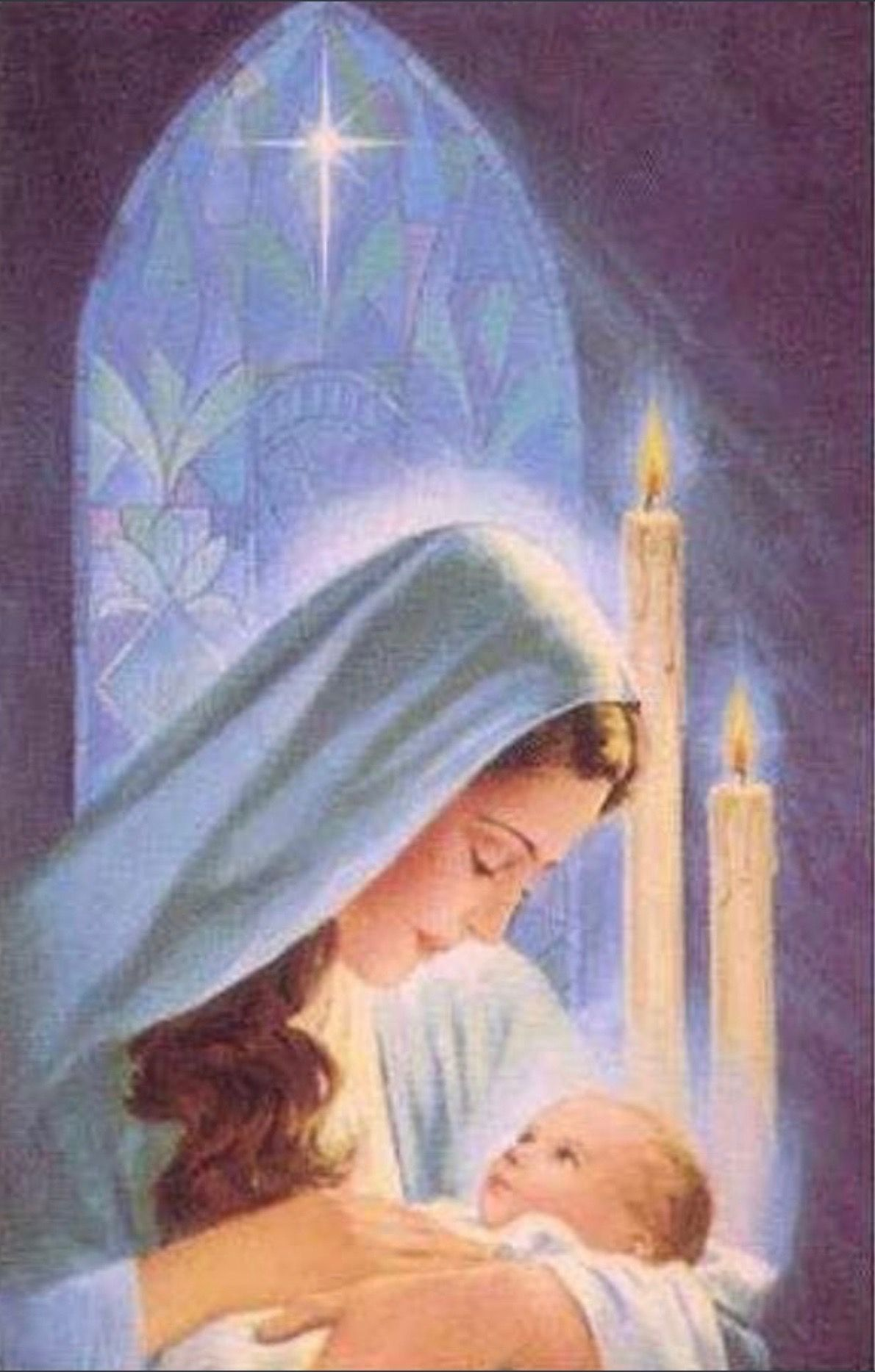 Pin on Virgen María.