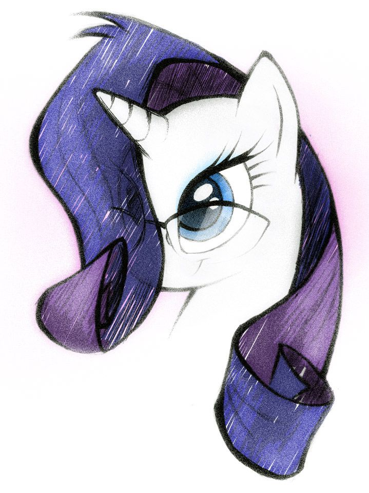 Rarity | My Little Pony | Pinterest | Ilustraciones