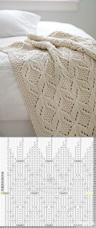 agujas de tejer la tela escocesa.
