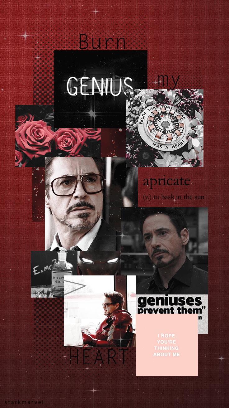 Tony Stark collage #01