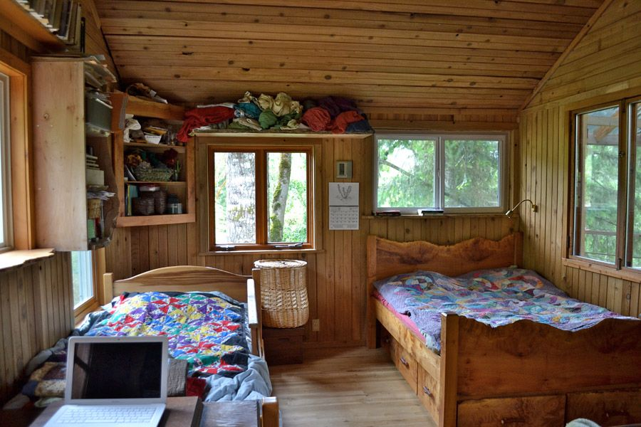 Tour Of Sweet Off Grid Family Cabin In The Oregon Woods