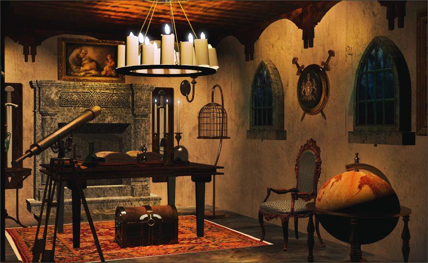 The Sorcerer 39 S Study Escape Room Designers Studio 41b Nuevas