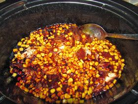 For the Love of Food: Crockpot BBQ Chicken Chowdown