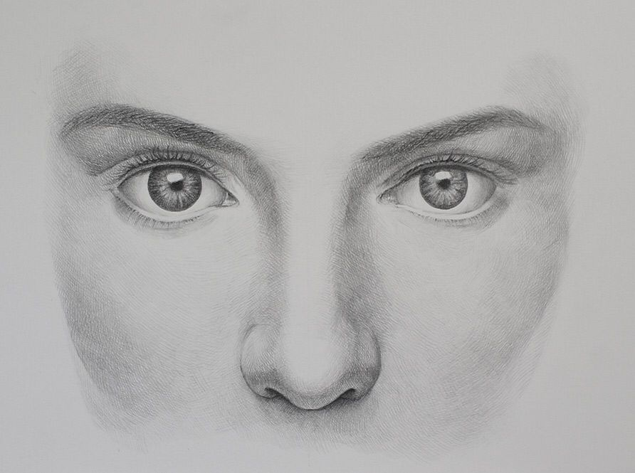 This is a photo of Mesmerizing Serious Expression Drawing