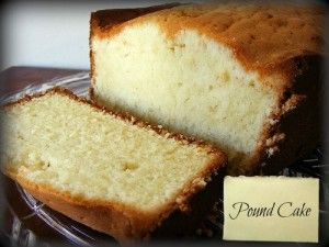 Pound Cake - Recipe - DominickCosta.com
