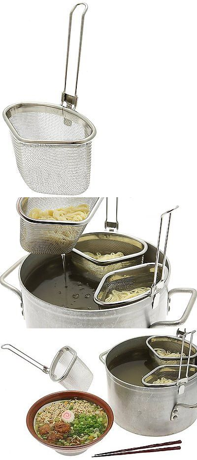 Colanders Strainers and Sifters 20636: Kotobuki Stainless Steel Triangular Ramen And Noodle Strainer -> BUY IT NOW ONLY: $32.39 on eBay!