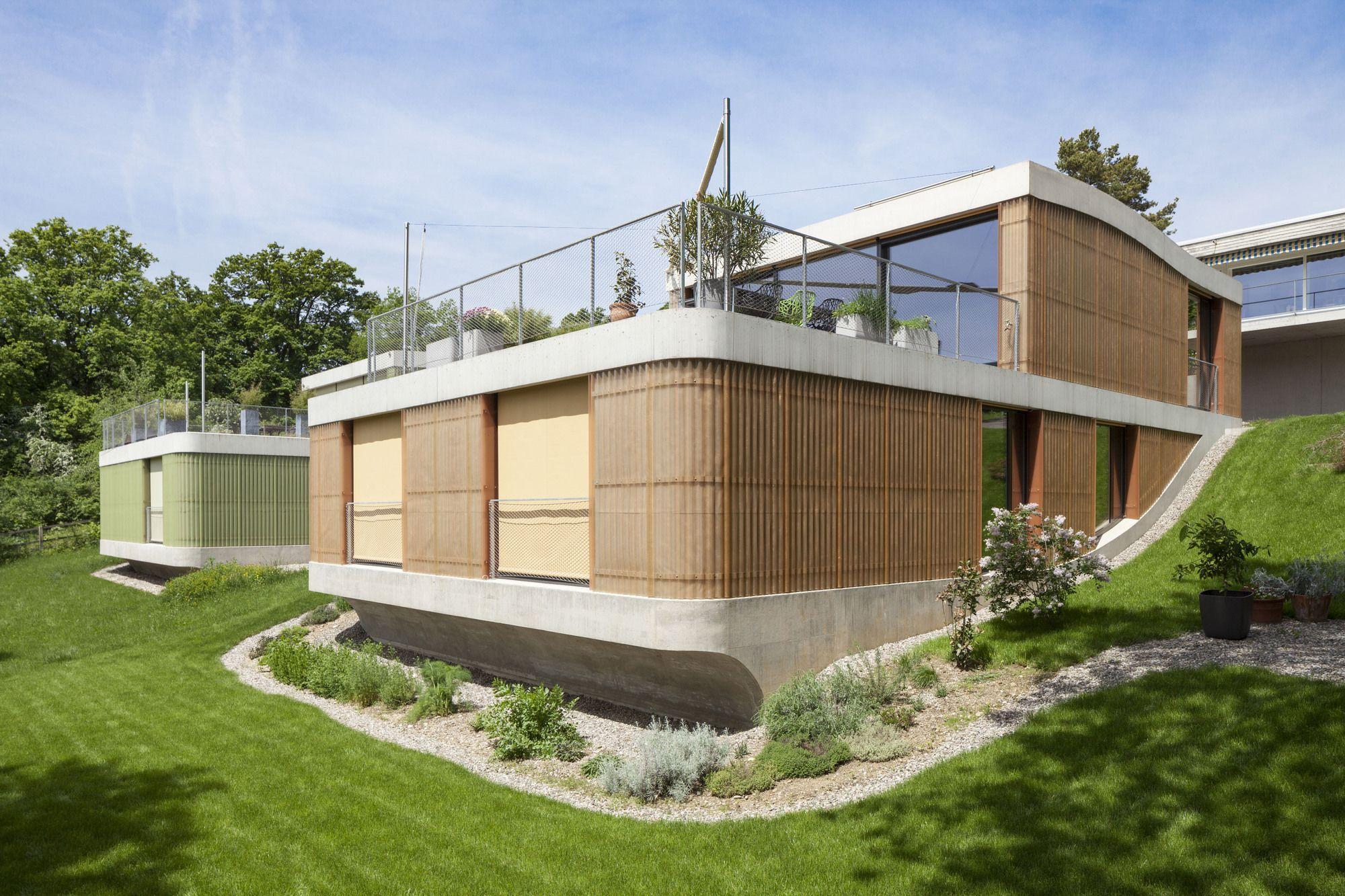 Casas en Wygärtli / Beck + Oser Architekten   Plataforma Arquitectura