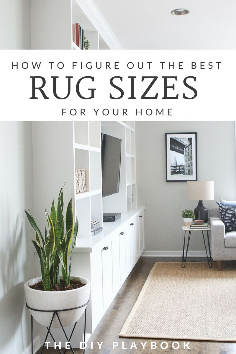Rookie tips for buying the right size rug for your space