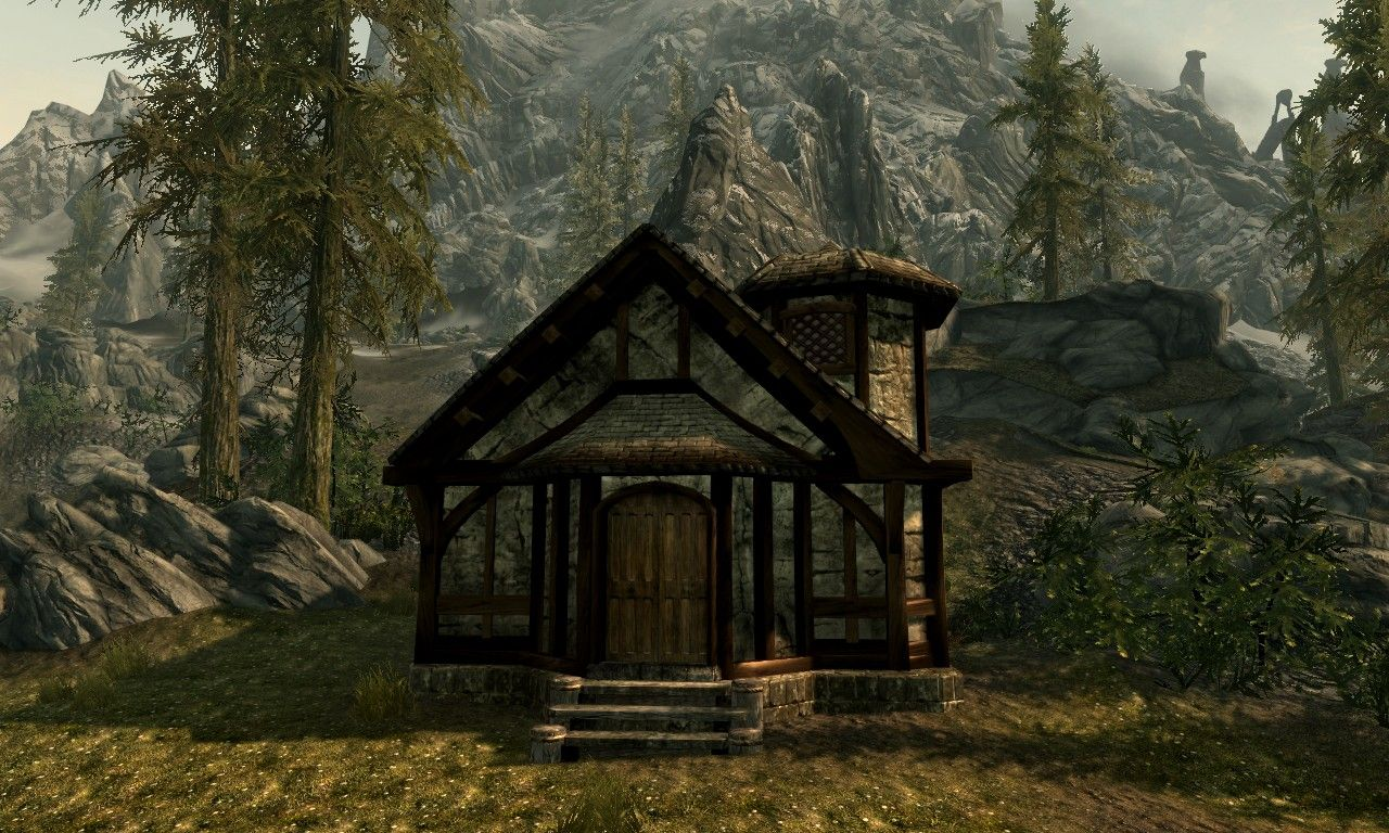 Strotis Small House Resource At Skyrim Nexus   Mods And Community