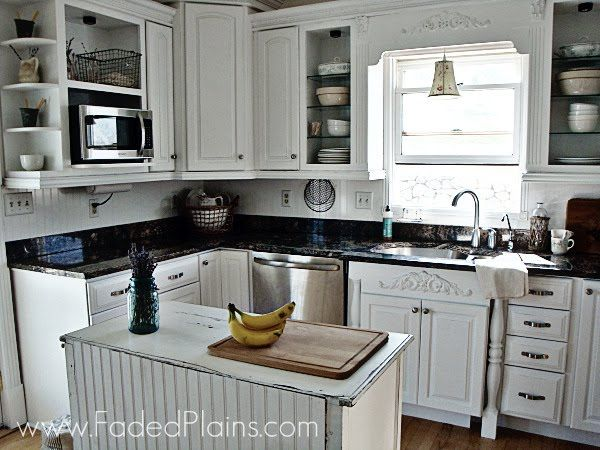 White Kitchen Makeover Faded Plains White Kitchen Makeover Kitchen Makeover Kitchen Design Small