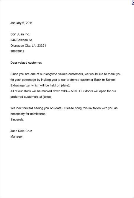 business party invitation letter general sample meeting free - sample invitation letter
