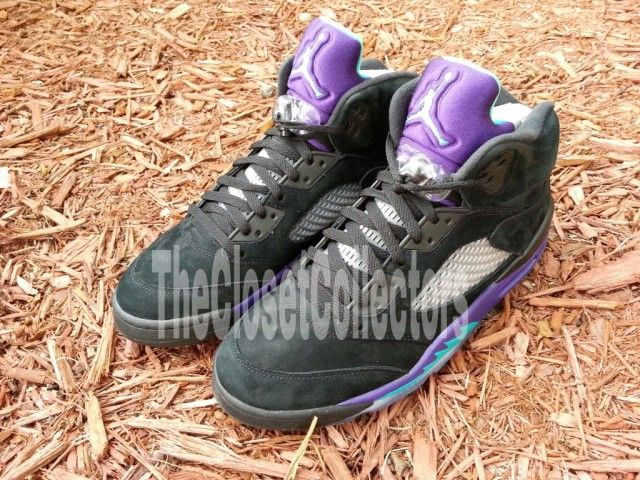 Air Jordan V « Black Aqua »