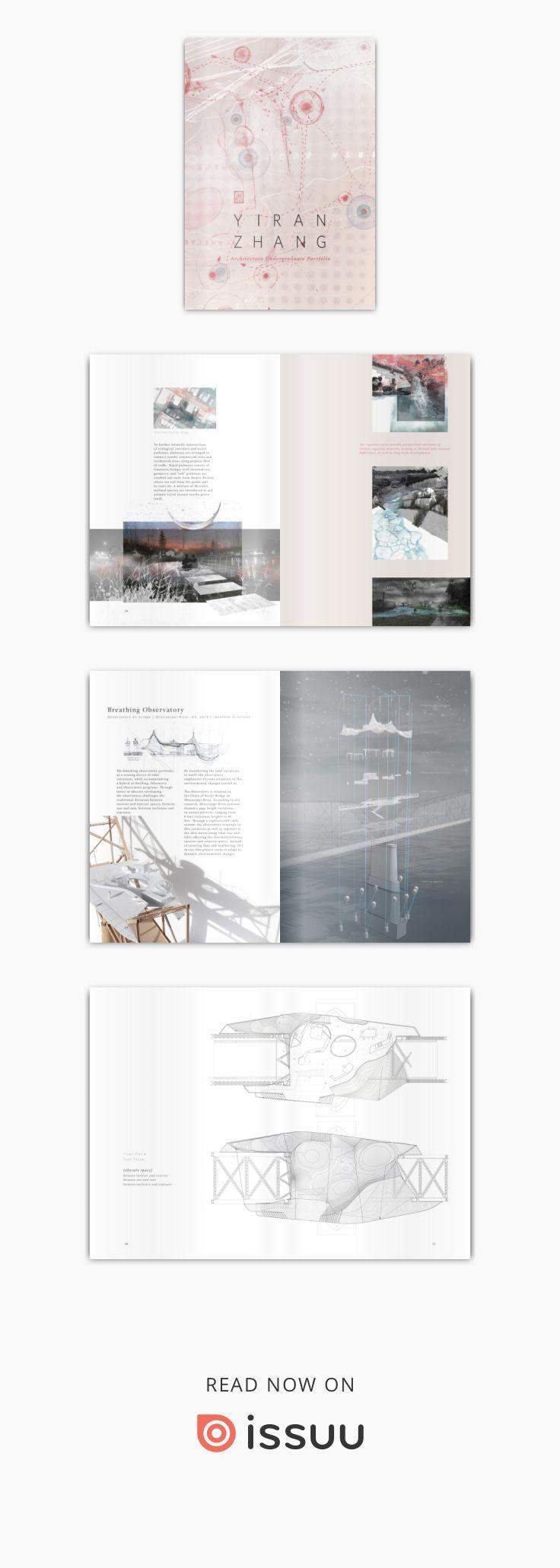 Yiran Zhang Architecture Undergraduate Porfolio