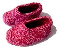 Knitted Moccasin Slipper Pattern en 2020 (avec images ...