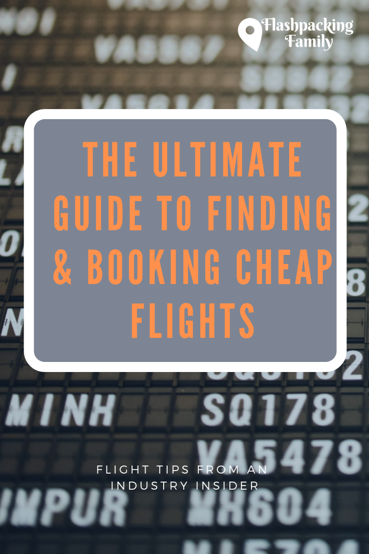 Flights can add up when you travel with the family, so taking time to find the very best flight deals around is well worth the time investment. Find out how with this guide to finding cheap flights worldwide. #cheapflights #findflightdeals #bookcheapflights