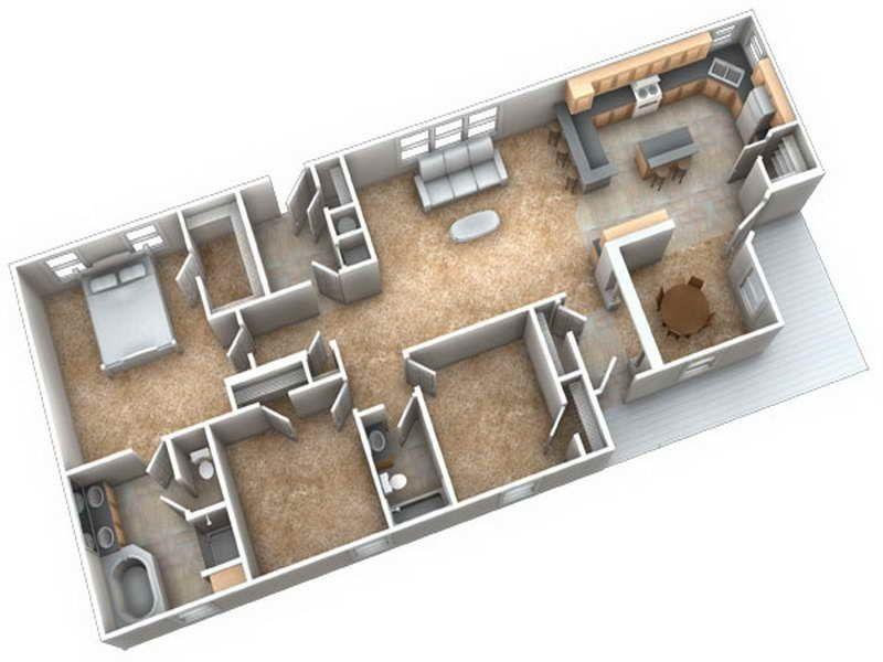 aqu les dejamos dos planos de d de diseos de casas que pueden ser construidas en