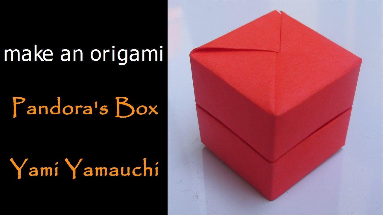 Make An Origami Pandoras Box Yami Yamauchi Origami Pandoras Box How To Make