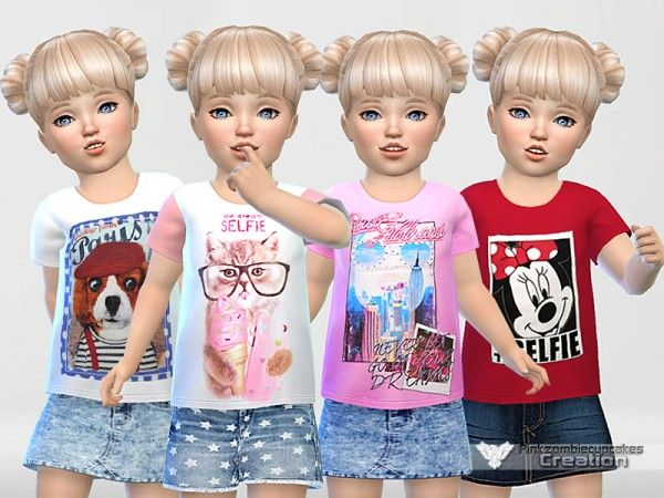 The Sims Resource: Toddler Collection ''Selfie'' by