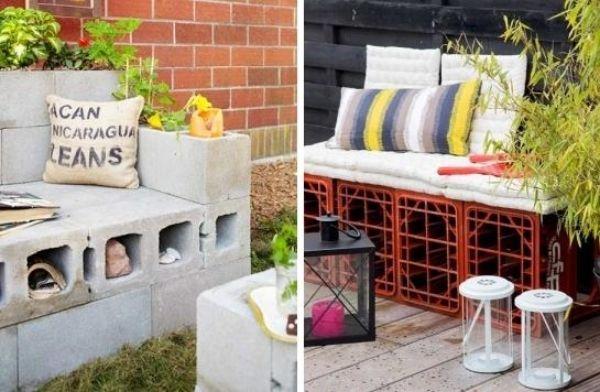 Gartenmöbel selber bauen beton  Beton Möbel-Gießen Garten-Polsterung Kissen | Gartenmöbel bauen ...