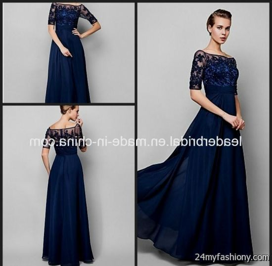 blue wedding dress with sleeves - Yahoo Image Search Results ...