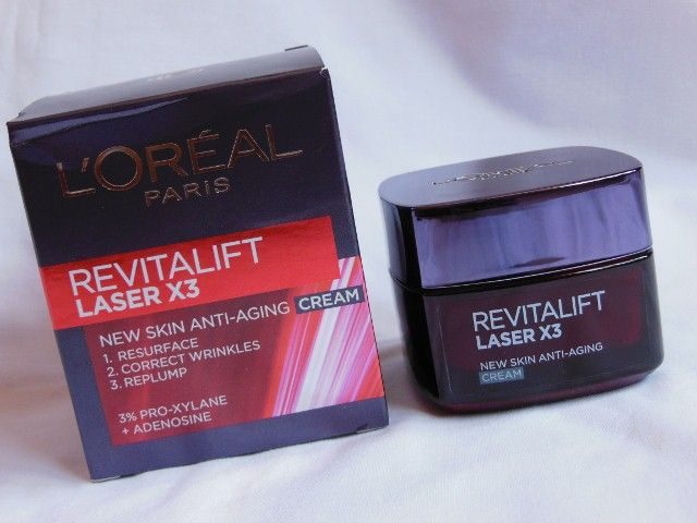 L'Oréal Paris Revitalift Laser X3 Anti-Aging Cream Review, Swatch ...
