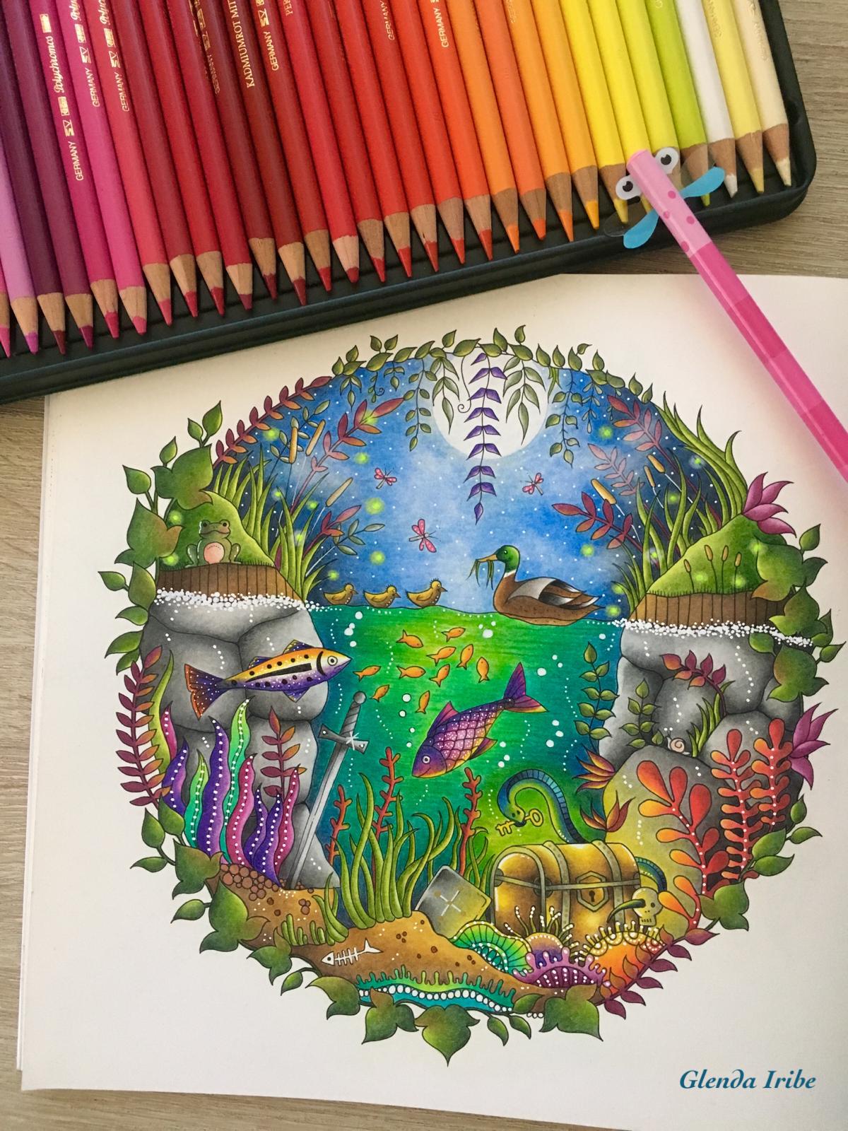 Enchanted Forest De Johanna Basford
