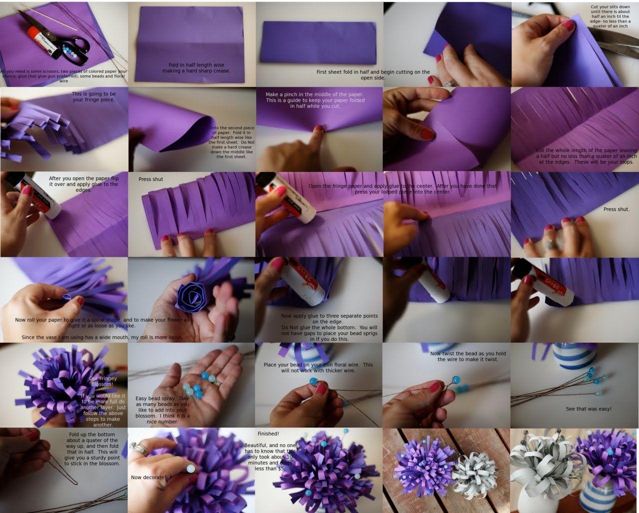 Diy Paper Flower Centerpieces Paper Flower Centerpieces Diy