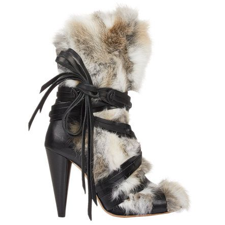 Isabel Marant Fur-Trimmed Pietra Ankle Boots sale fashionable really cheap price store discount newest sast sale online r8GwUvARX