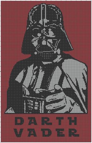 Free Stuff: Star Wars Darth Vader Crochet Afghan Pattern - Listia ...