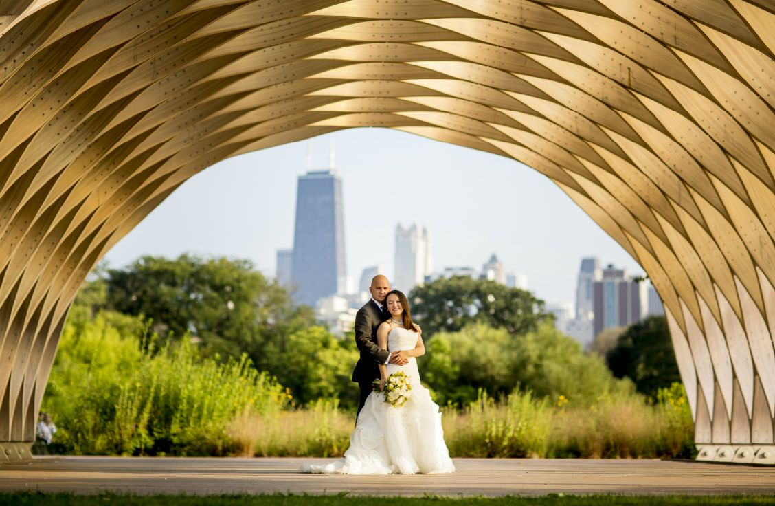 Events by L Real Wedding Rosy and Chip in Chicago