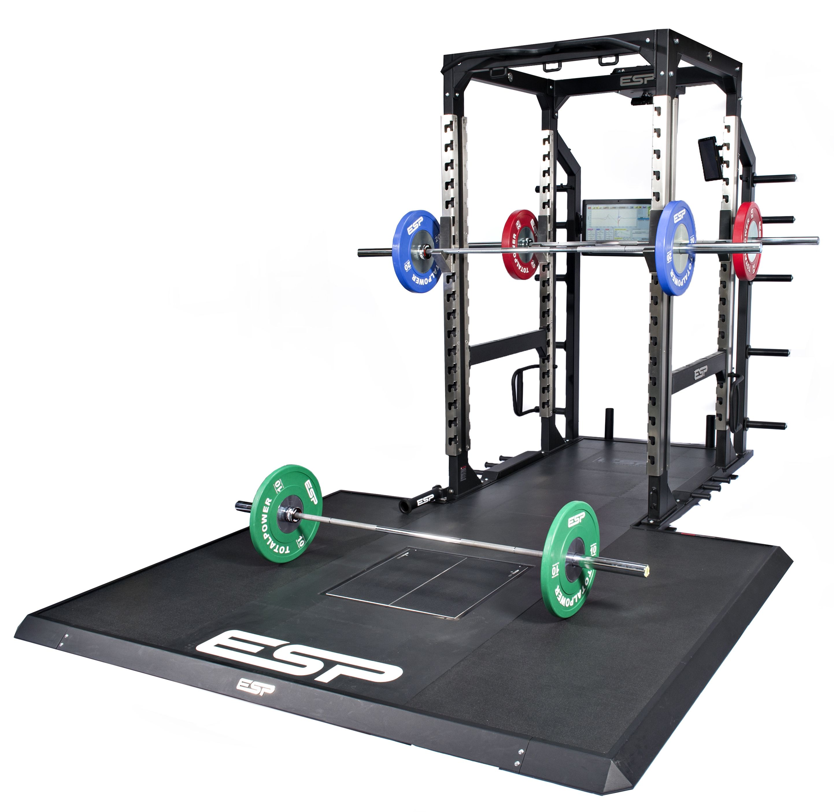 Powerlifting racks and platforms cosmecol