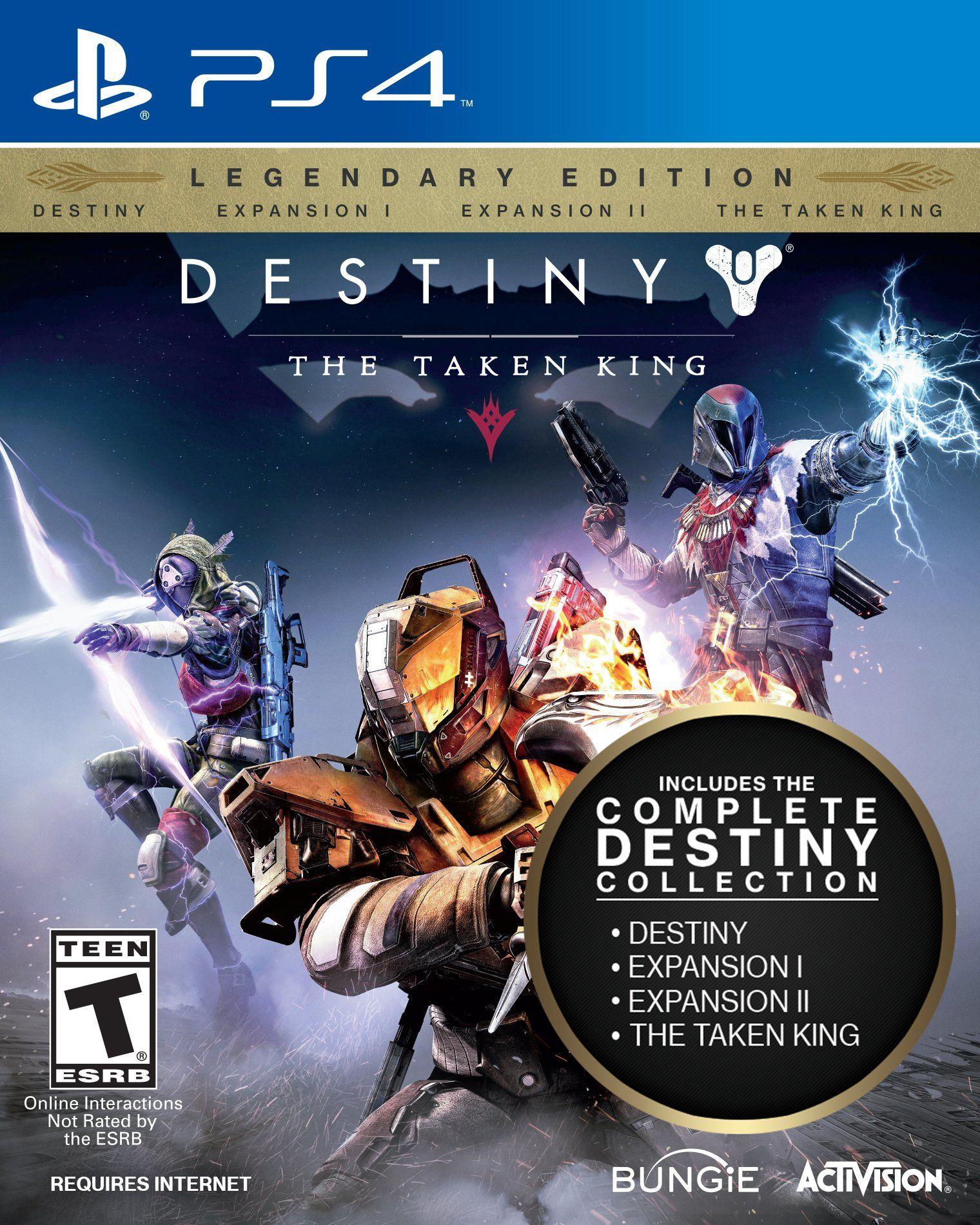 Amazon Com Destiny The Taken King Legendary Edition Playstation 4 Video Games Brett Request Destiny The Taken King The Taken Xbox One