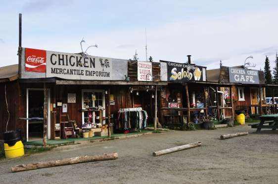 Chicken (Alaska, US) - robertharding/REX Shutterstock