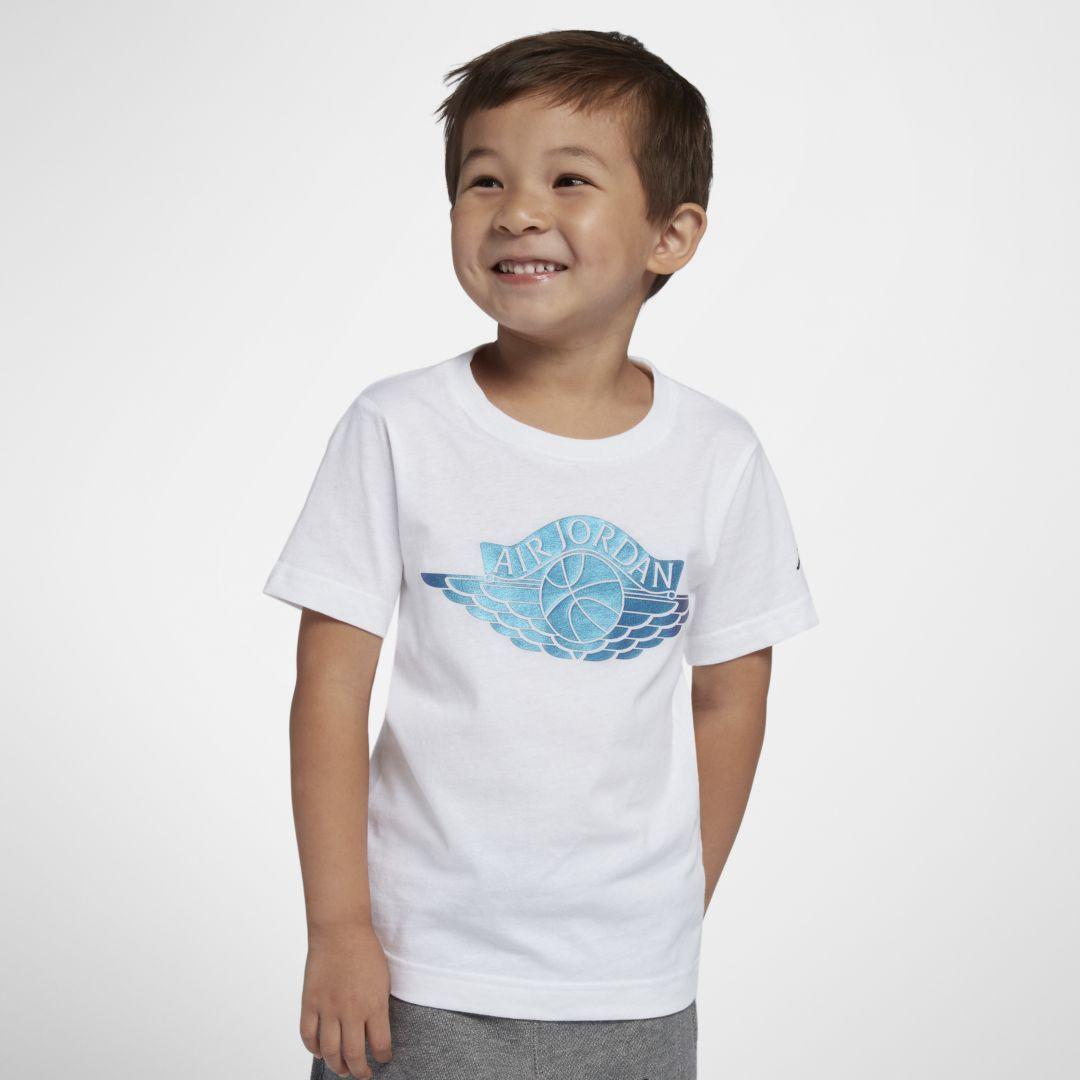 faafe54da77bb8 Jordan Wings Little Kids (Boys ) Graphic T-Shirt Size 7 (White)