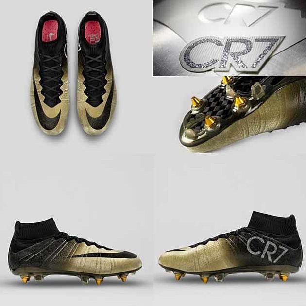 Las nuevas botas de Cristiano Ronaldo.  3ebc582bfb034
