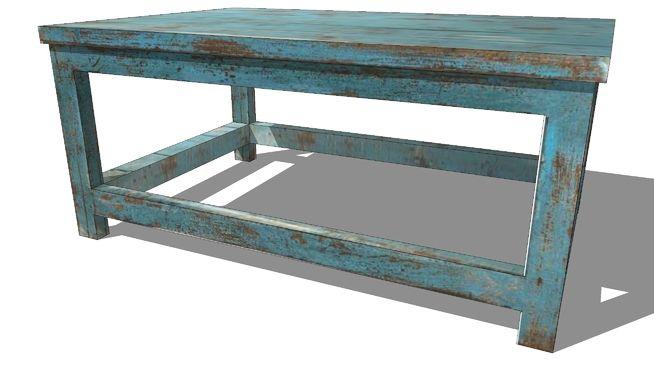 Large preview of 3D Model of table basse AVIGNON, Maisons du