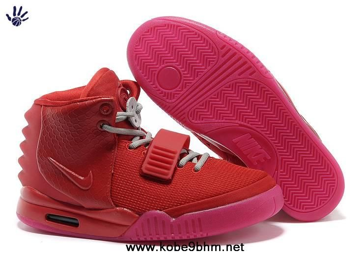 best authentic 95914 70497 Nike Air Yeezy II All Red Shoes