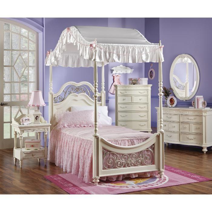 princess   Diy princess room, Pink twin bed, Girls bedroom ...