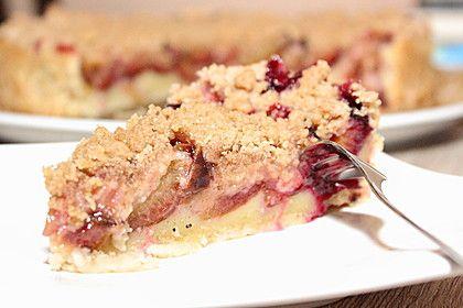 Photo of Vegan plum cake with cinnamon crumble from livingbackwards | Chef