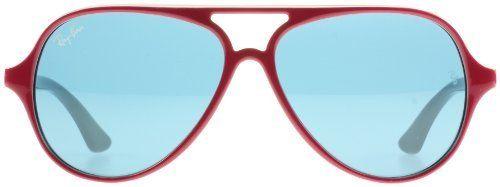 3c4aacb97c Ray Ban Junior Sunglasses RJ9049 S 177 90 Top Red Fuchsia on Grey Blue 50mm  Ray-Ban.  85.81