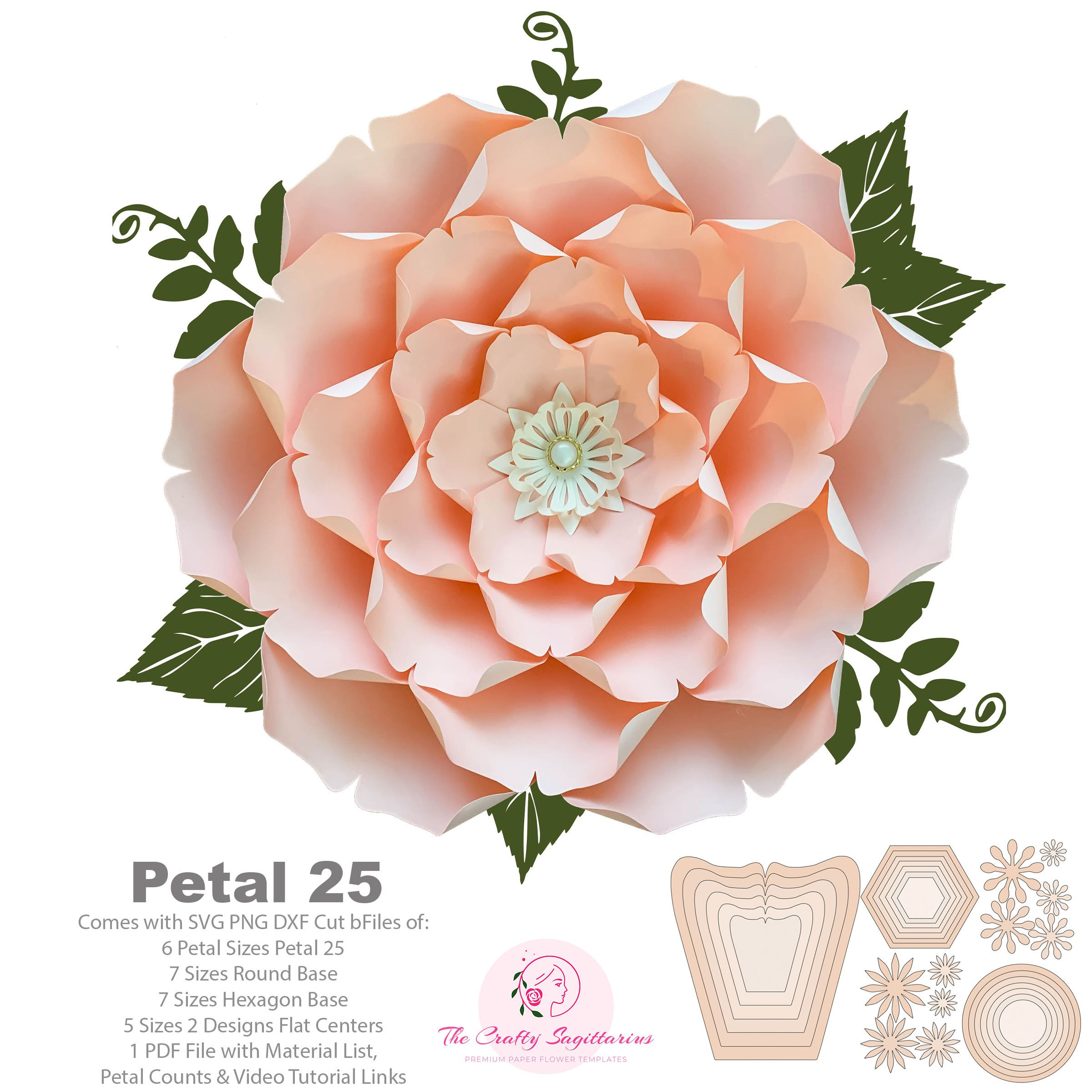 Pin On Paper Flower Tutorial