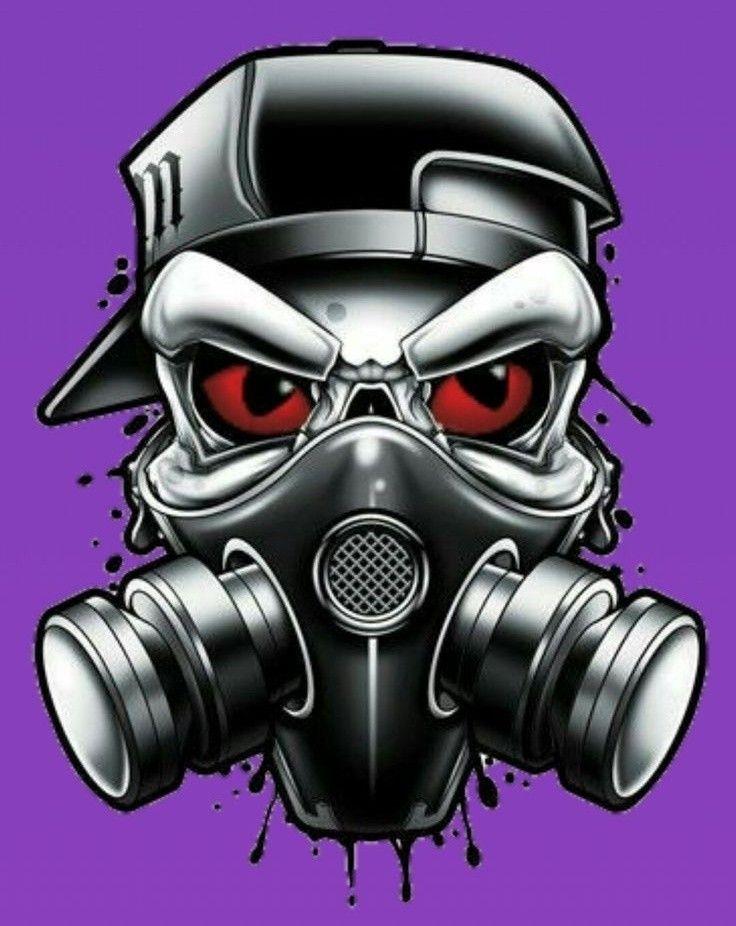 Pin By J Cesar On Wallpaper Ponsel Gas Mask Art Photo Logo Design Skull Wallpaper