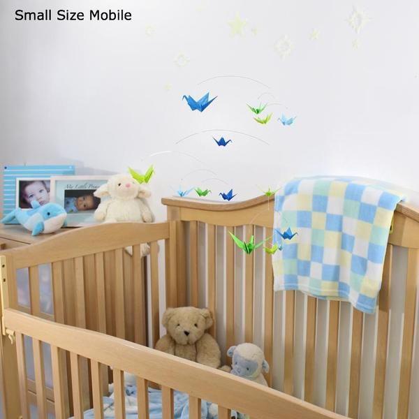 Photo of Pastel Origami Paper Crane Mobile