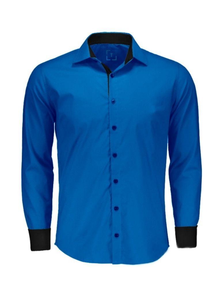 1) Camisas Social Masculina Slim - Atacado - Promoção - P Ao Gg - R ... 85467a41fb
