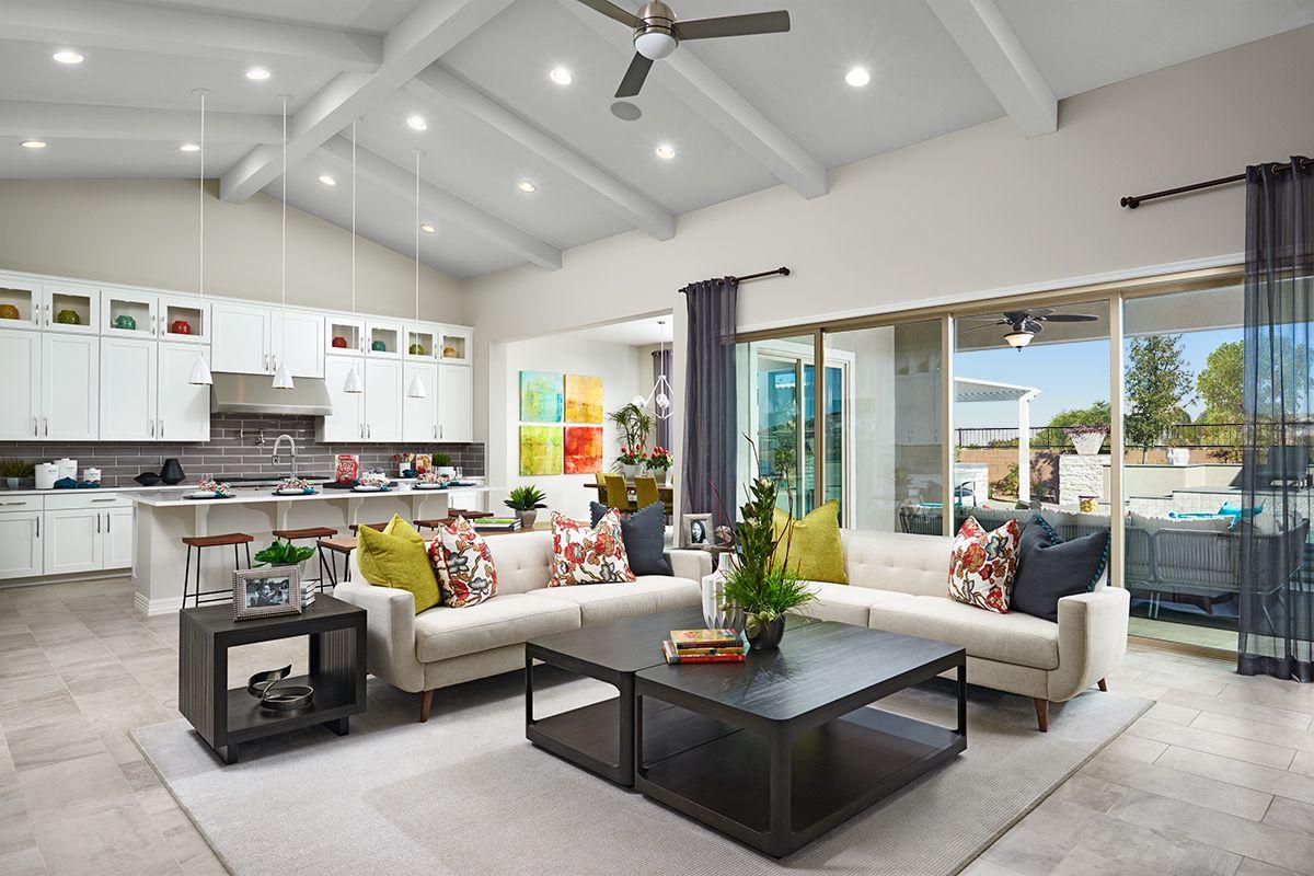 Soaring Ceiling Ryder Model Home