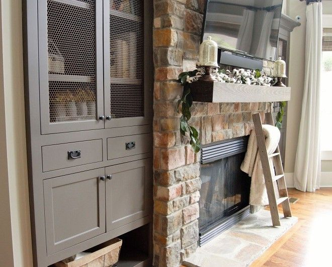 Best Sherwin Williams Urbane Bronze Living Room Cabinets 400 x 300