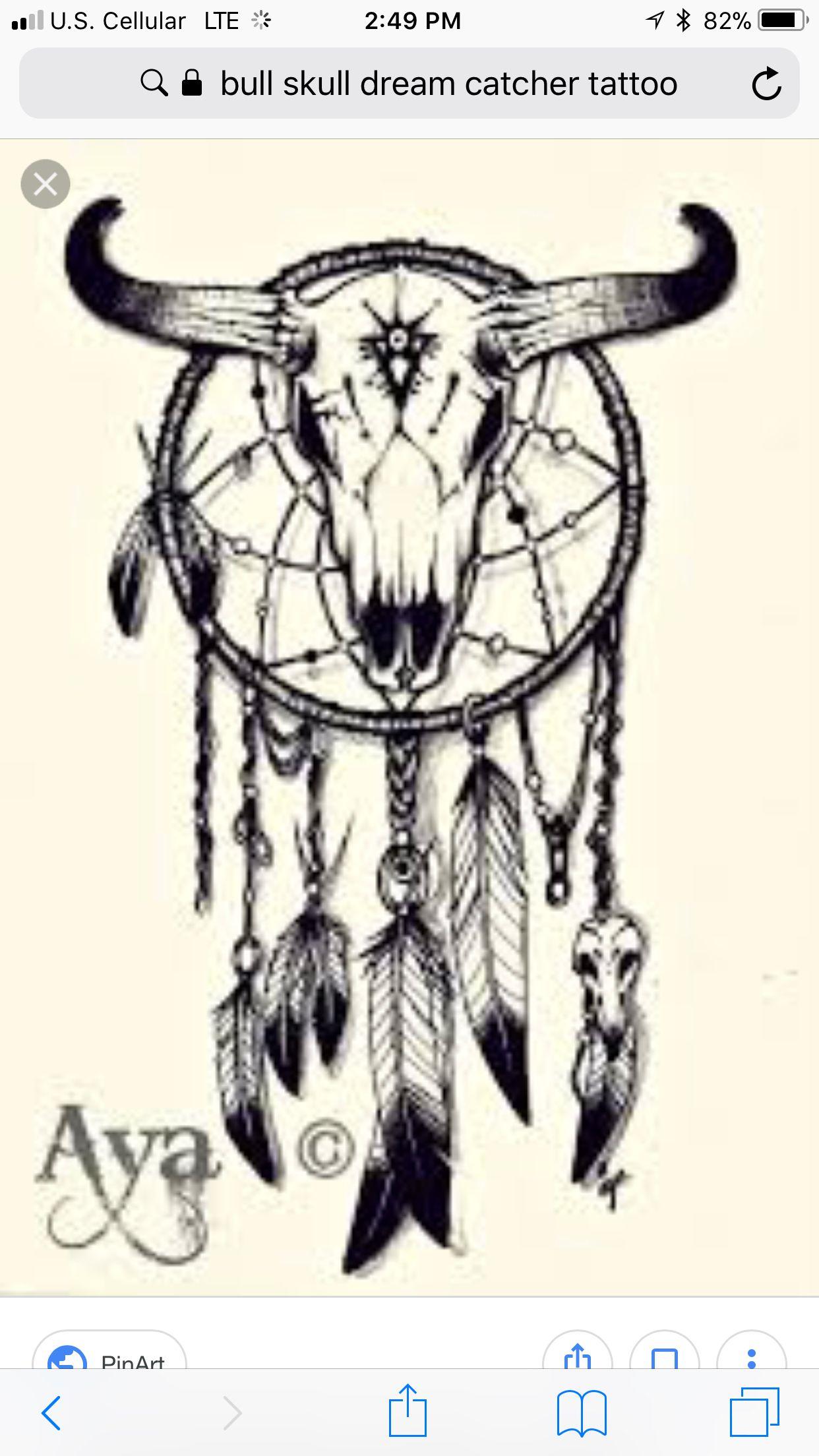 45++ Native american bull skull tattoos info