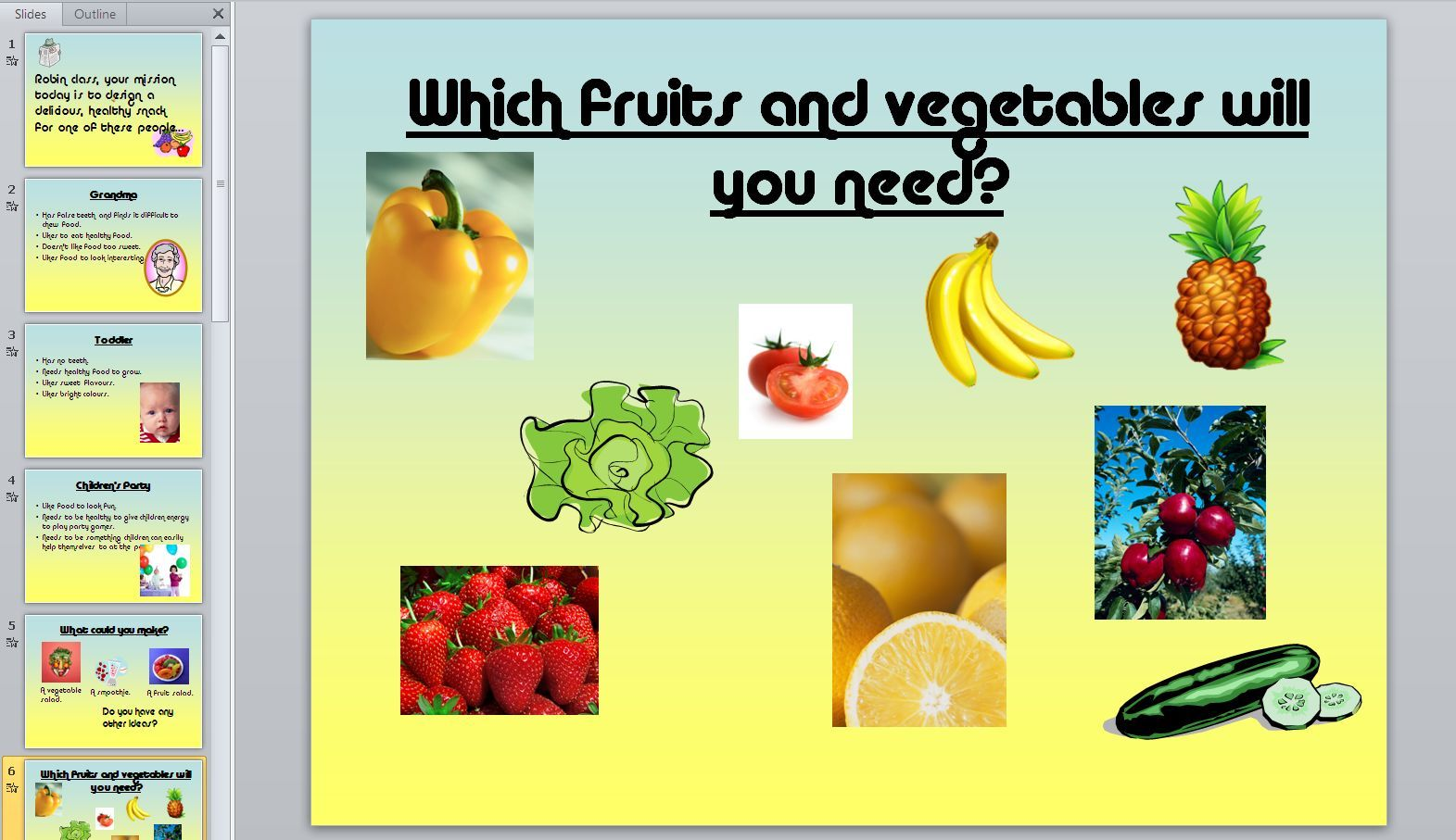 Healthy Eating Teaching Resource