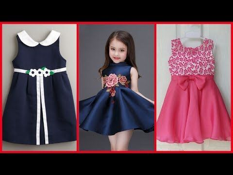 320b57f997b4 DIY yoke baby frock cutting and stitching full tutorial pn z world ...
